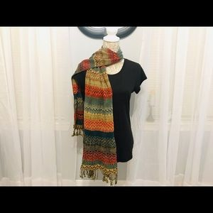 Accessories - Warm Colorful Scarf